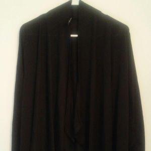 Black Cardigan Size Medium Long Sleeve
